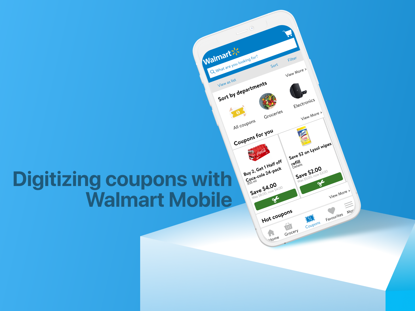 Designing A Coupon Experience For Walmart S Mobile App Elizabeth Ko