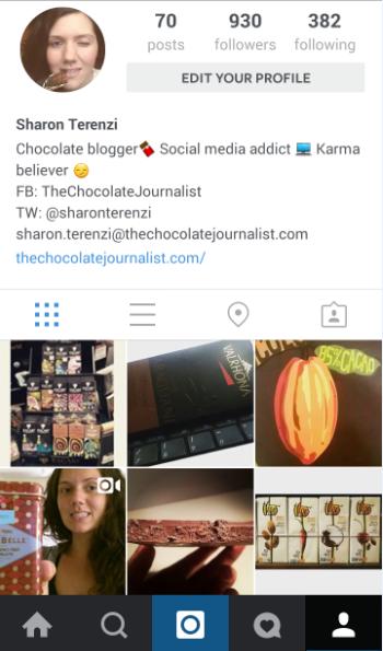 巧克力公司的Instagram Dos和Donts