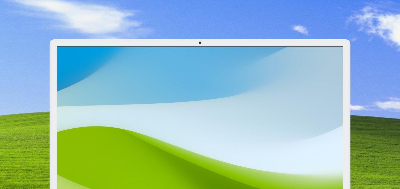 macOS Bliss Wallpaper — Basic Apple Guy