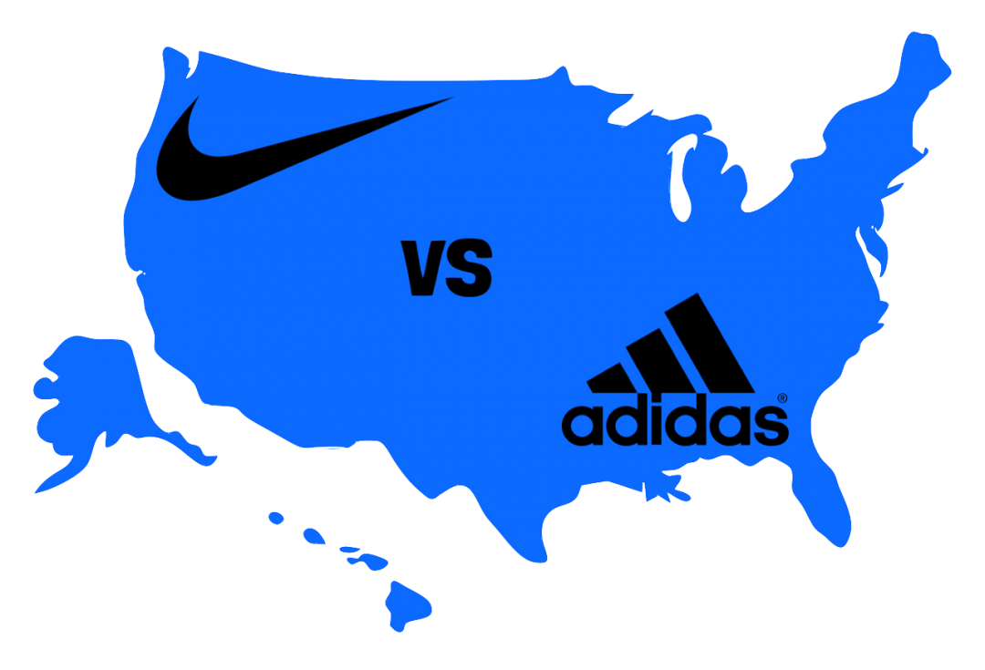 Grifo Carretilla Física  How Nike and Adidas are Competing for Young Consumers —