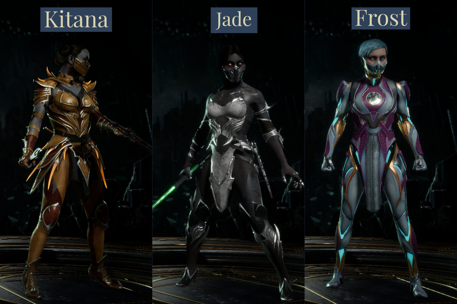 Mortal Kombat Female Characters Have Better Costumes In Mk11 Gnl