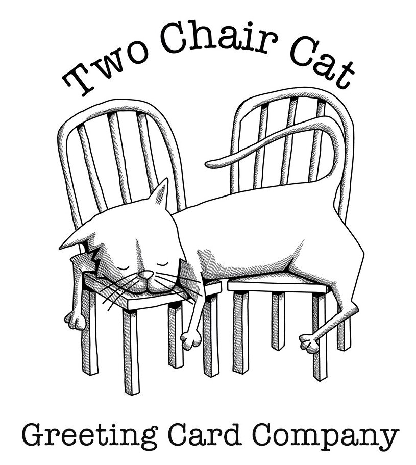 Buy White Paper Greeting Card Online USA | Twochaircat.com