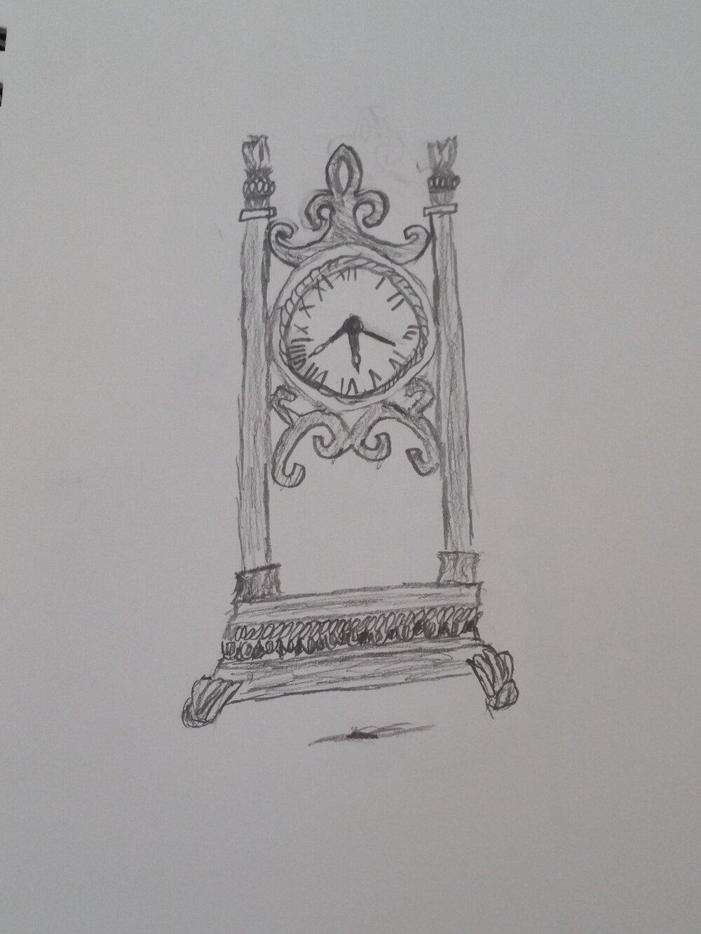 My favorite from my 16 yo sketchbook from week 1