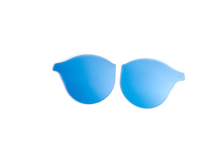 Blue Slip In Lenses