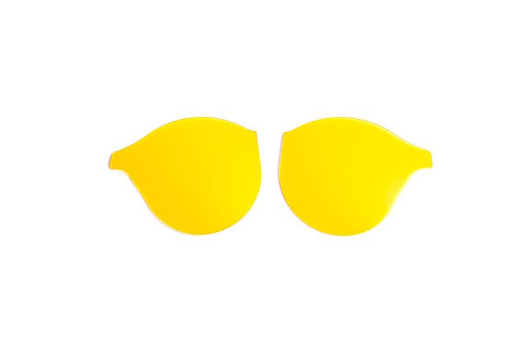 Yellow Clip In Lenses