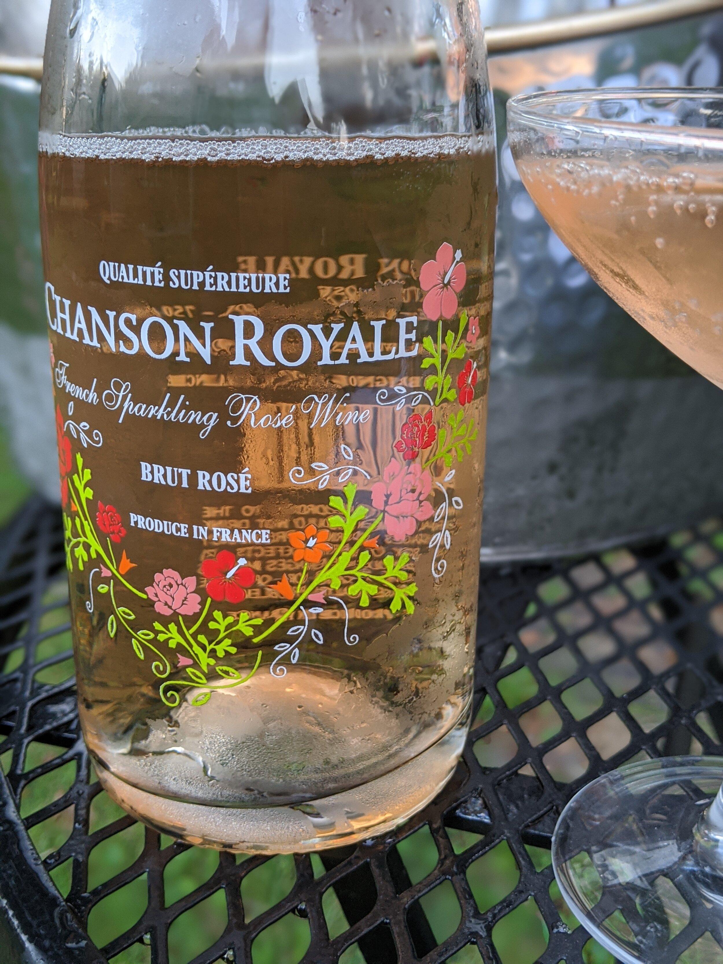 Day #2 Chanson Royale Brut Rosé
