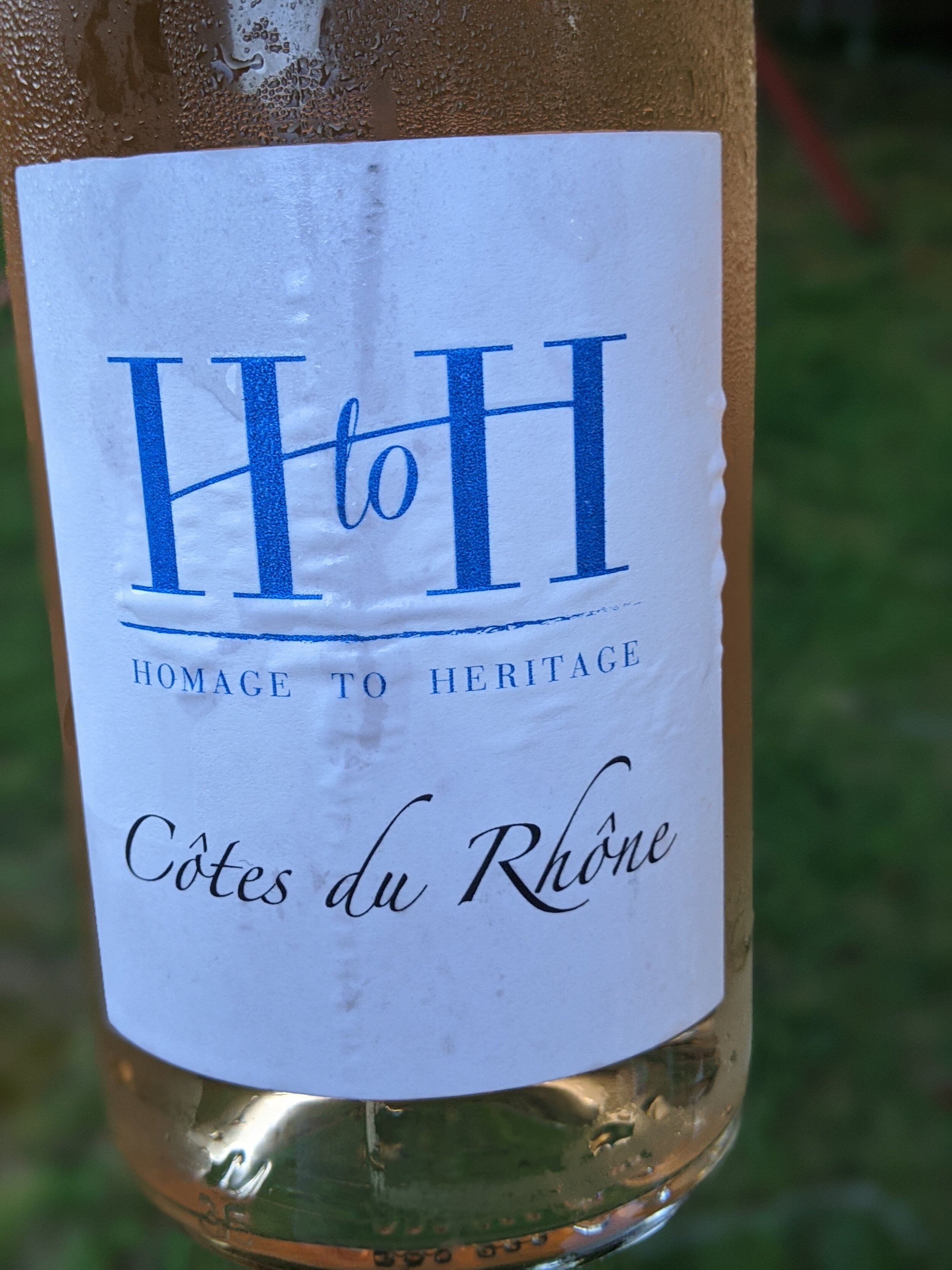 Day #19 – H to H Homage to Heritage Rosé