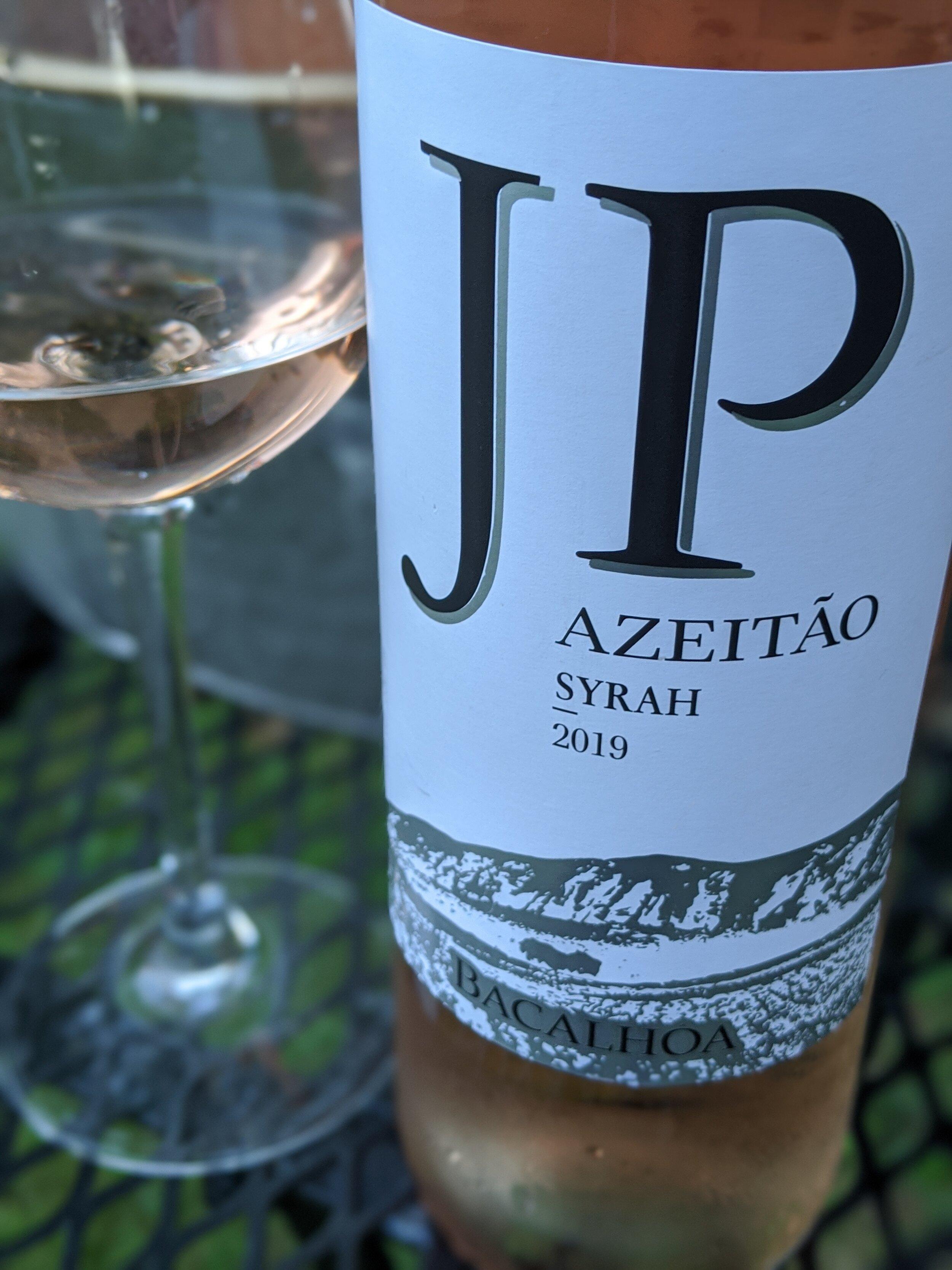 Day #20 - JP Azeitão Shiraz Rose