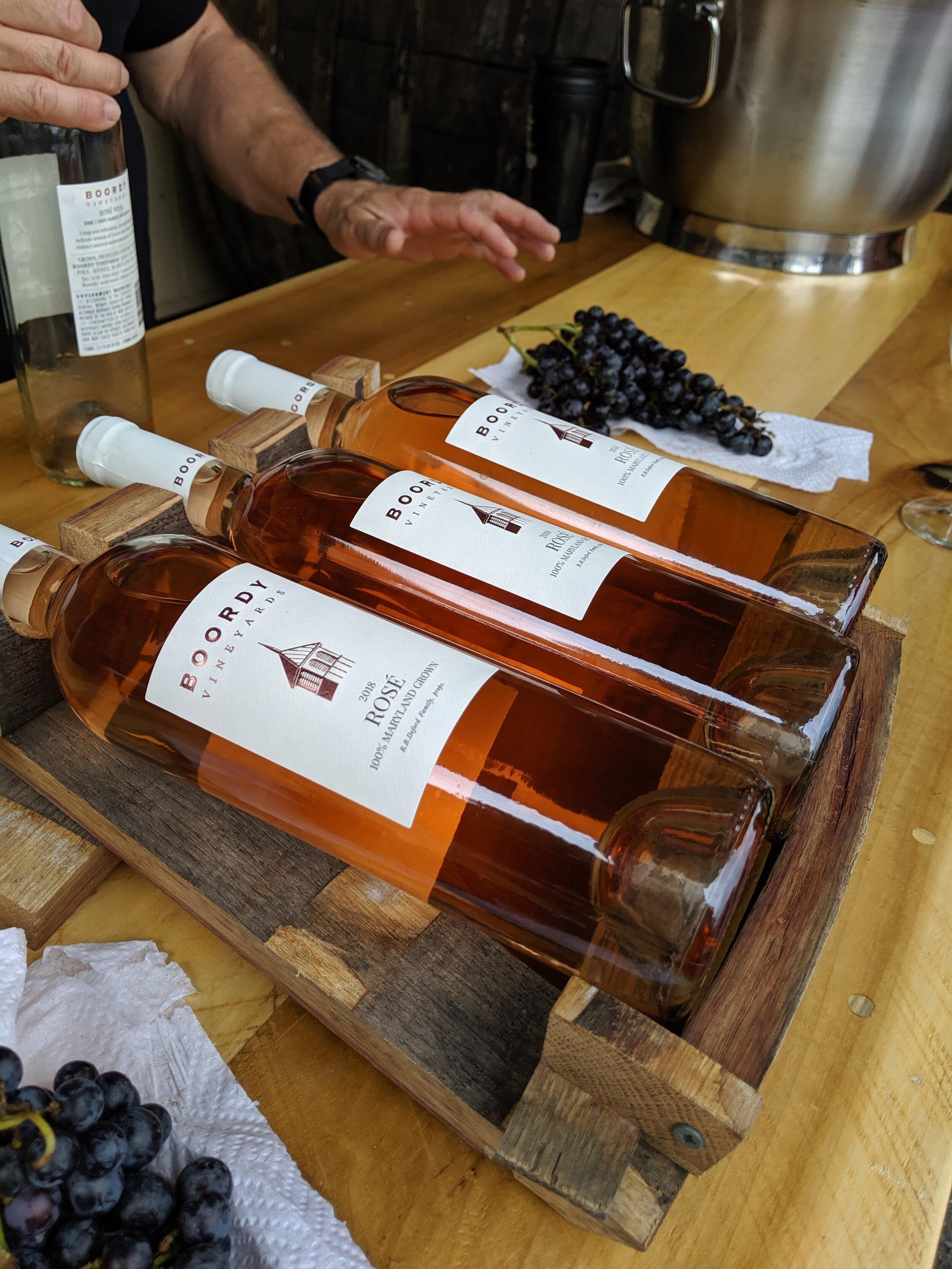 Day #25 – Boordy Vineyards Rosé