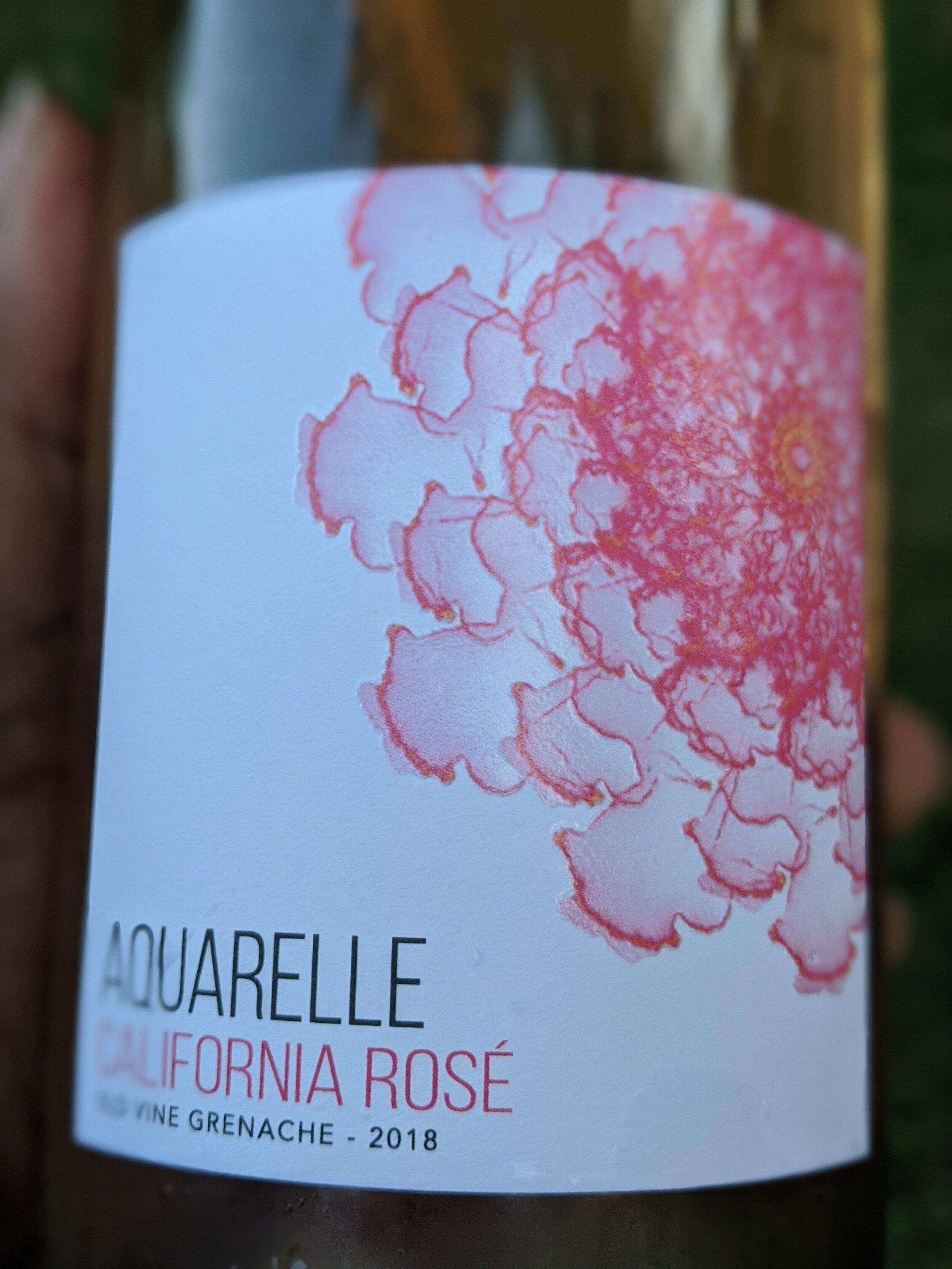 Day #29 -Aquarelle Rose