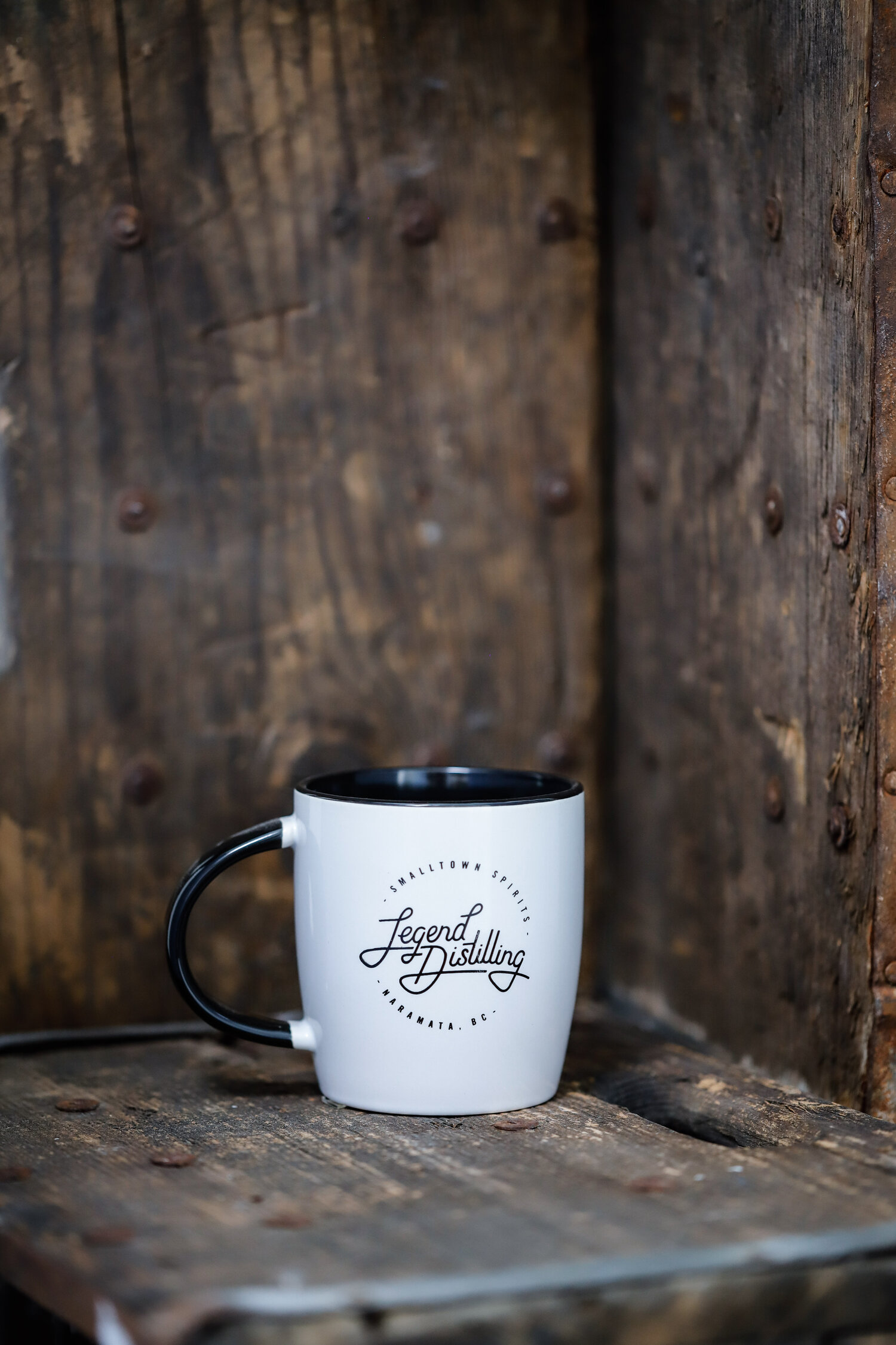 """Ceramic Mug - """"There's a Change this is Gin""""  Legend Distilling"""