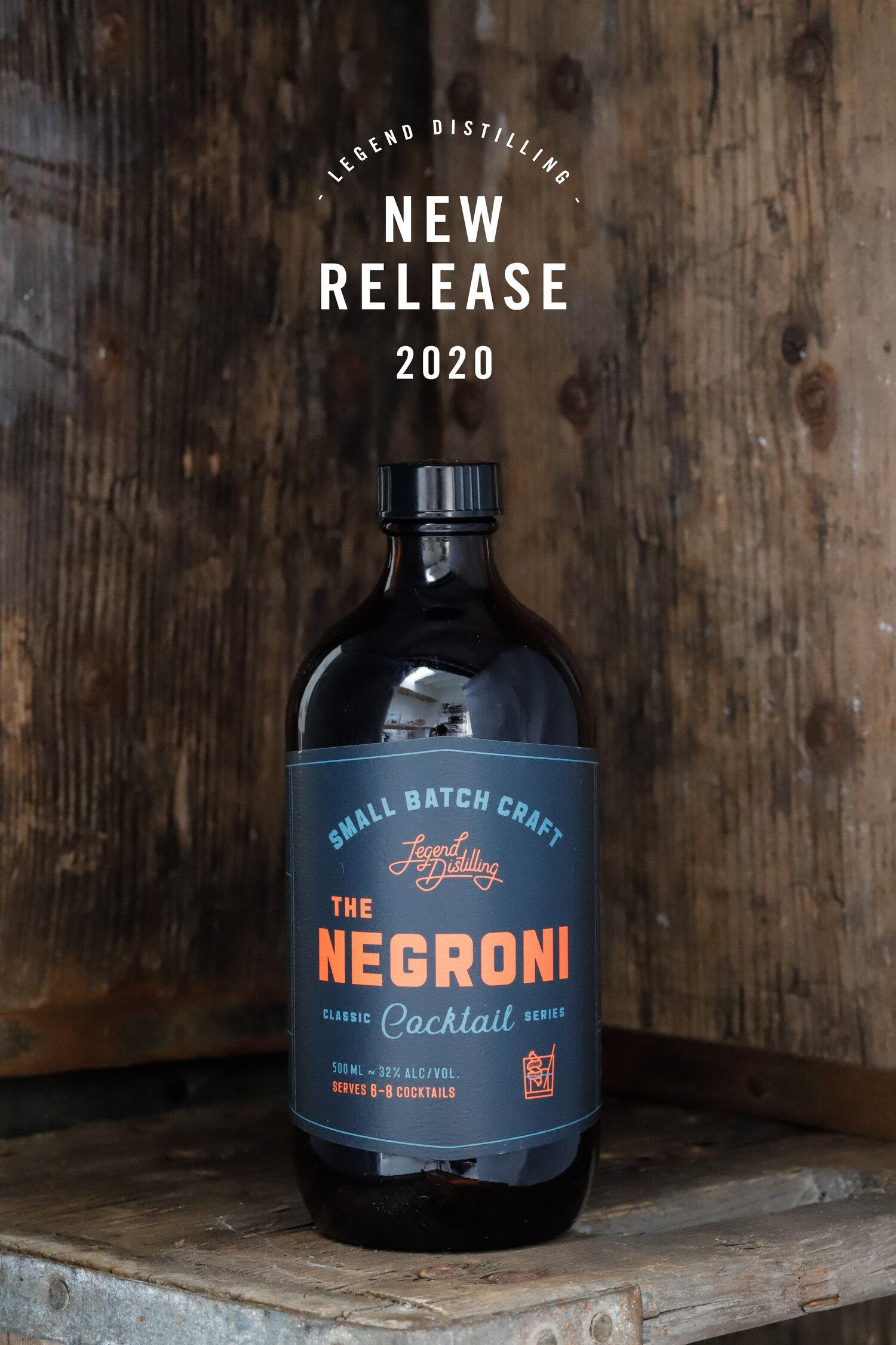 The Negroni  Legend Distilling