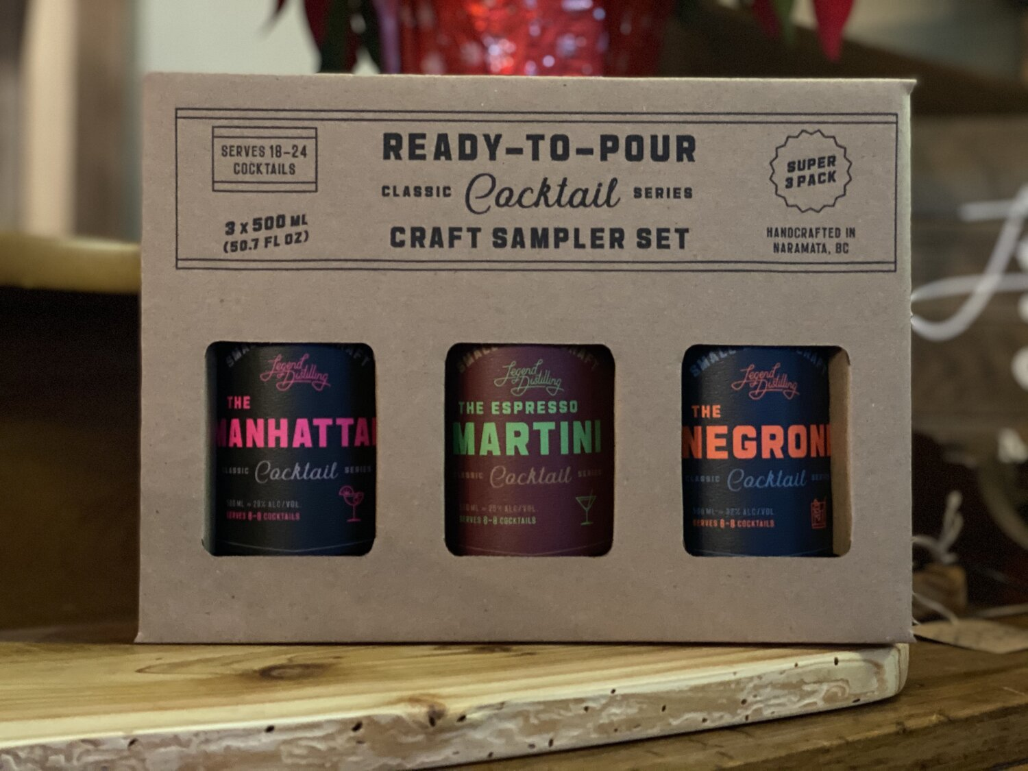 Classic Series - 3 Pack Gift Pack  Legend Distilling