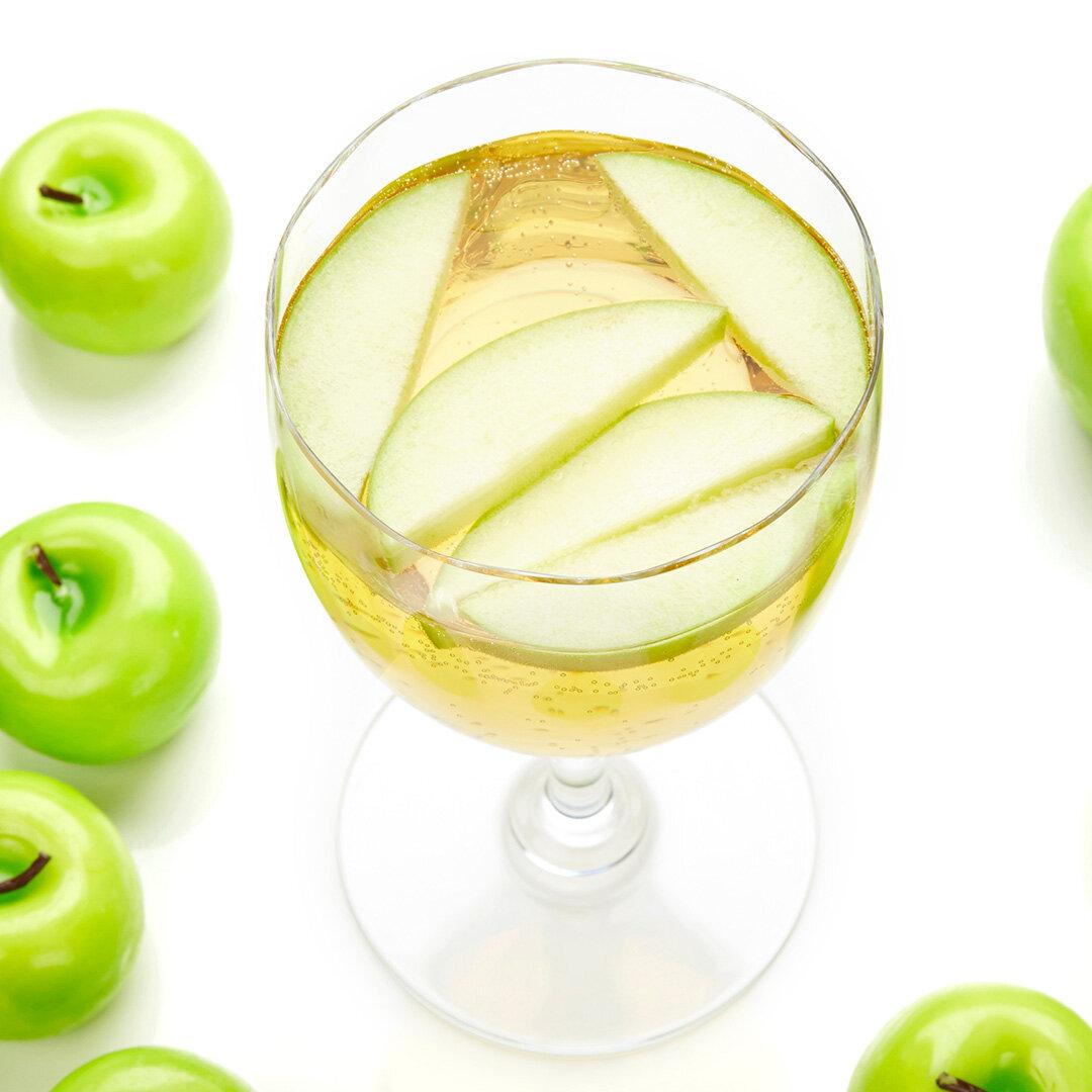 White Wine Apple Spritzer Recipe Bite Me More