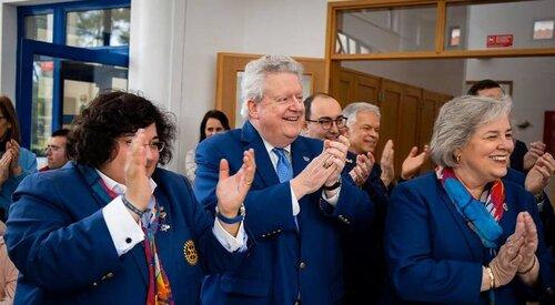 Os melhores momentos da Visita do Presidente de Rotary International a Portugal