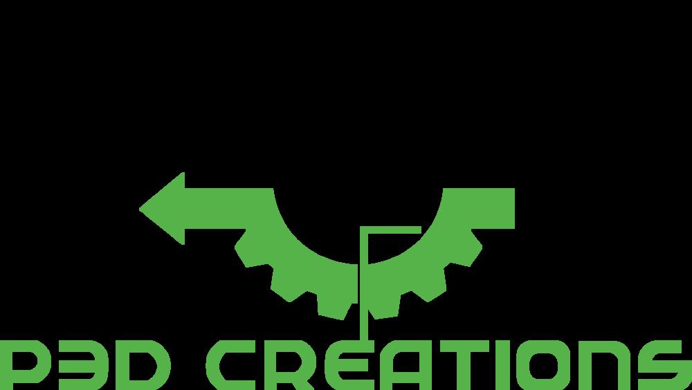 P3D Creations Logo