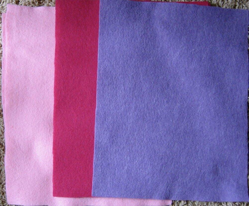 Felt Comparison: Acrylic vs. Wool — Craft Critique