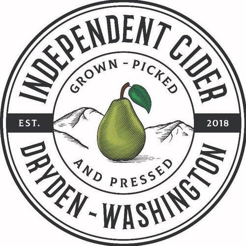 苹果酒独立徽标