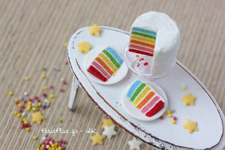 微型彩虹蛋糕,2013年,史蒂芬妮·基尔格斯特(StéphanieKilgast)