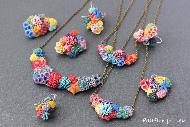 微型珊瑚珠宝,2014年,史蒂芬妮·基尔加斯特(StéphanieKilgast)