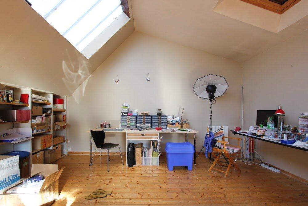 艺术工作室,2014年,史蒂芬妮·基尔加斯特(StéphanieKilgast)