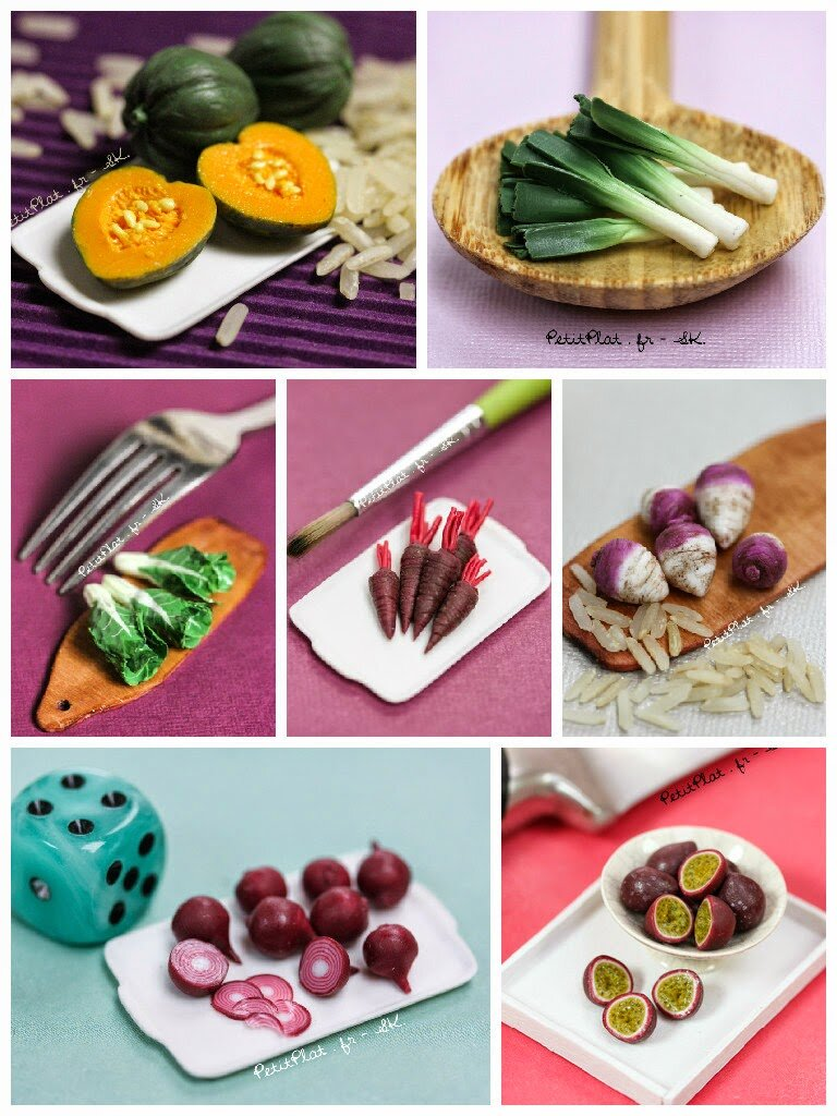 每日迷你蔬菜,2015年第5周,斯特凡妮·基尔加斯特(StéphanieKilgast)