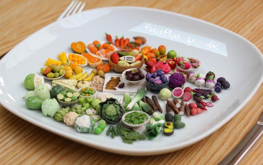 每日迷你素食,70天,2015,斯特凡妮·基尔加斯特(StéphanieKilgast)