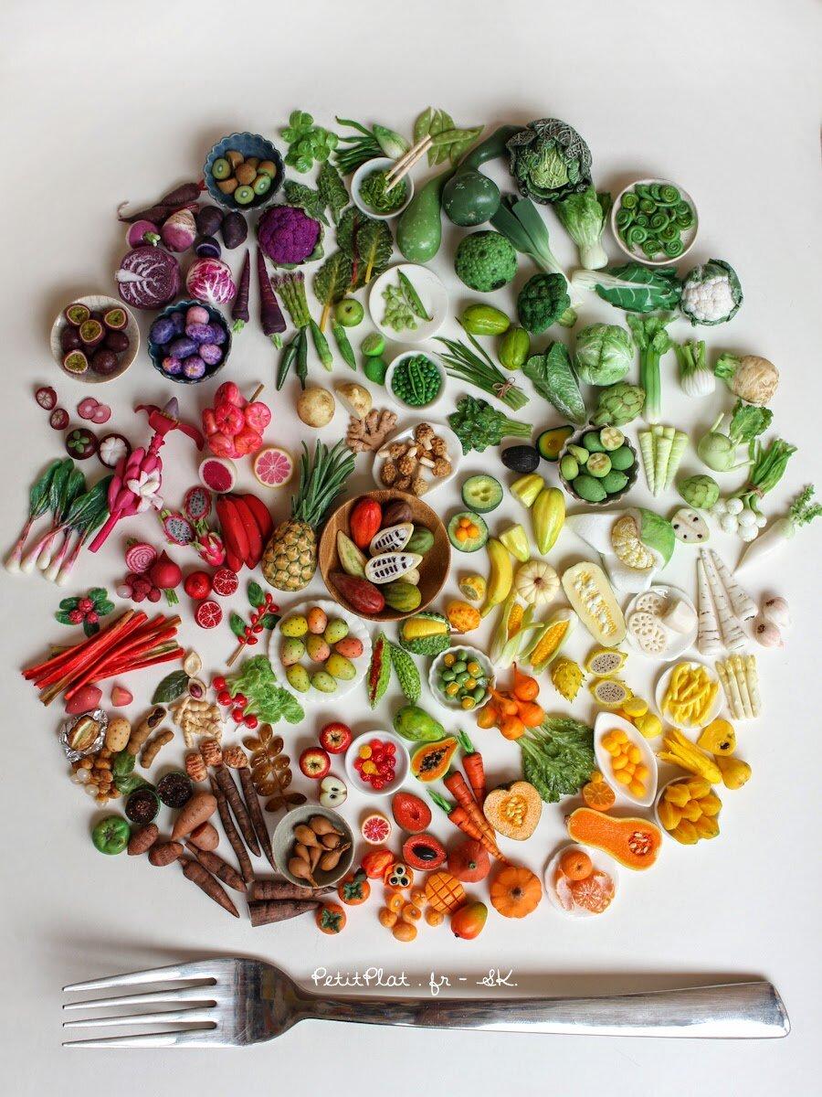 Daily Mini Veggie,130天,2015年,StéphanieKilgast