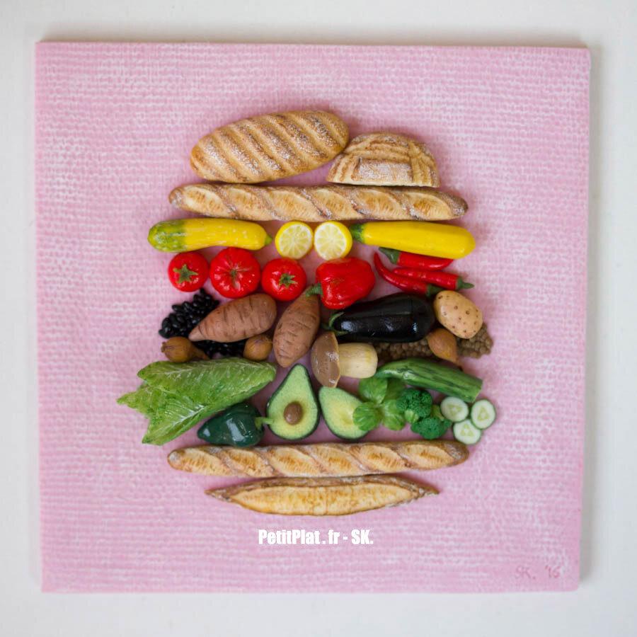 素食汉堡的万岁,StéphanieKilgast