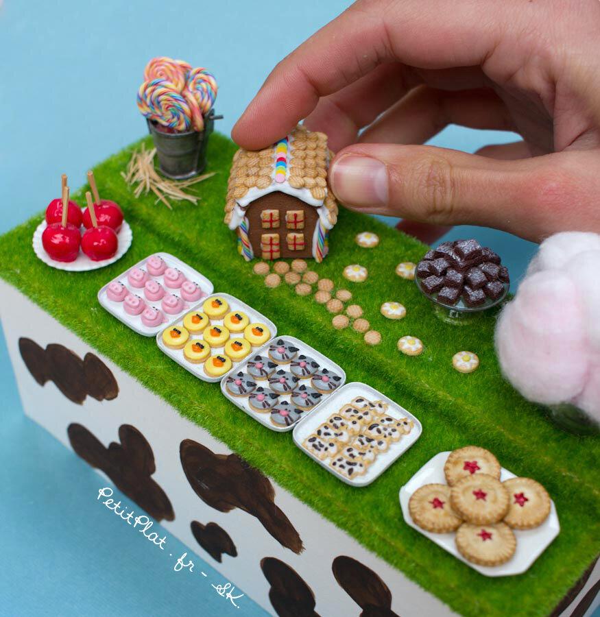 驯服艺术,微型动物农场甜品桌,斯特凡妮·基尔加斯特(StéphanieKilgast)