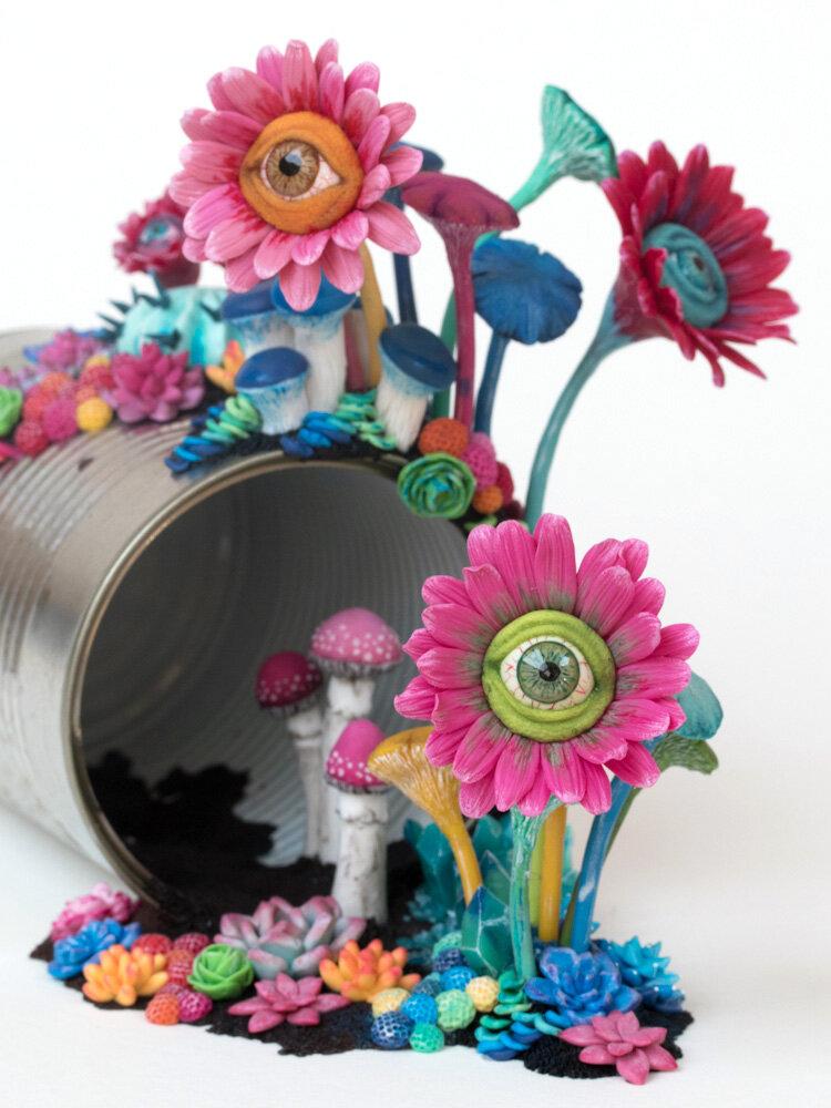 Candi(e)d手表,雕塑,2017年,StéphanieKilgast