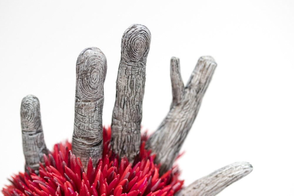 在我们信任的树木中,雕塑,2017年,斯蒂芬妮·基尔加斯特(StéphanieKilgast)的艺术品