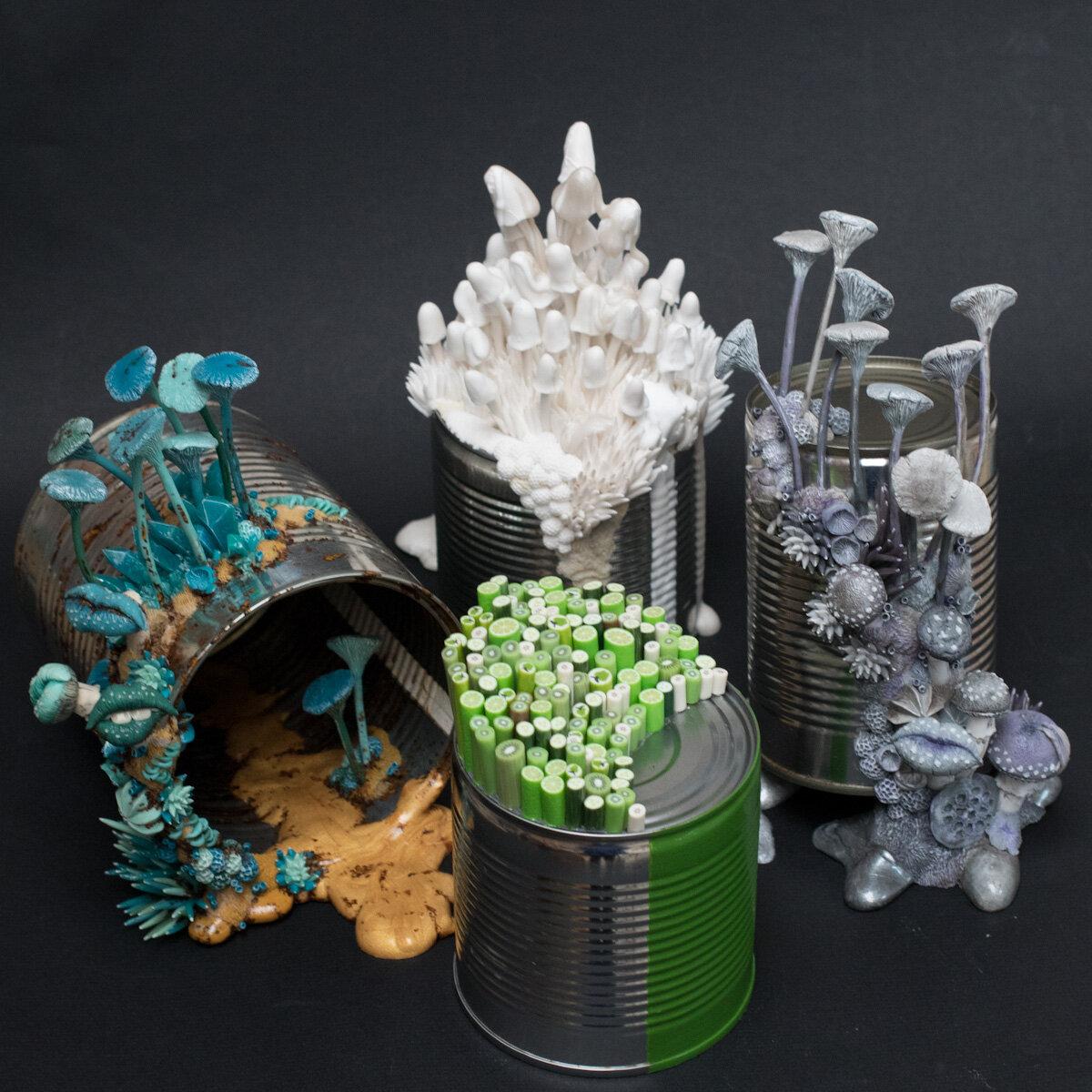 混合媒体雕塑,史蒂芬妮·基尔加斯特(StéphanieKilgast)
