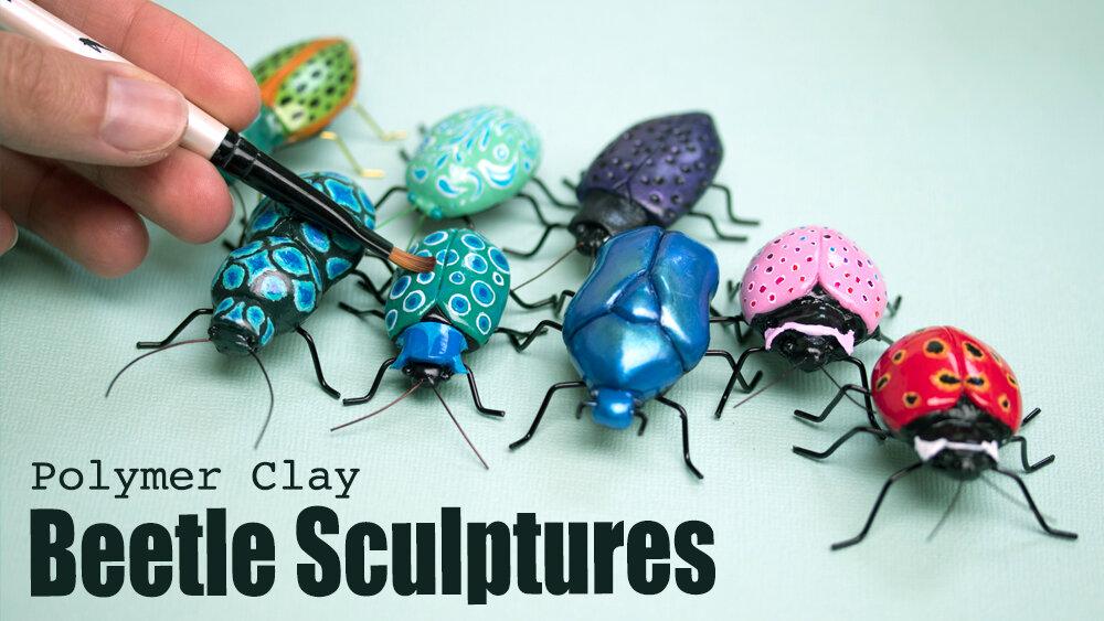 如何雕刻甲虫