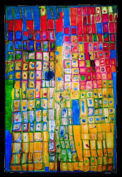 Vundertale建筑,Hundertwasser,1956年