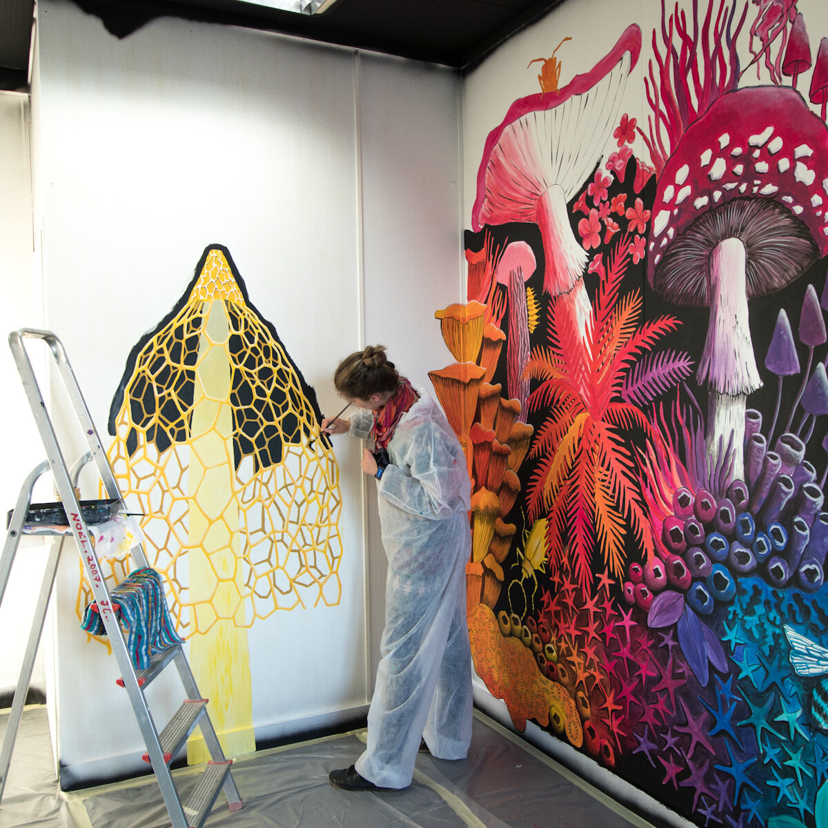 代代尔,壁画,斯蒂芬妮·基尔加斯特,2019年
