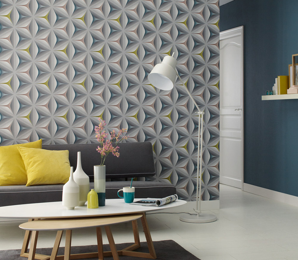 Move Your Walls Star 3d Effect Wallpaper 960422 Home Decor Hull Limited