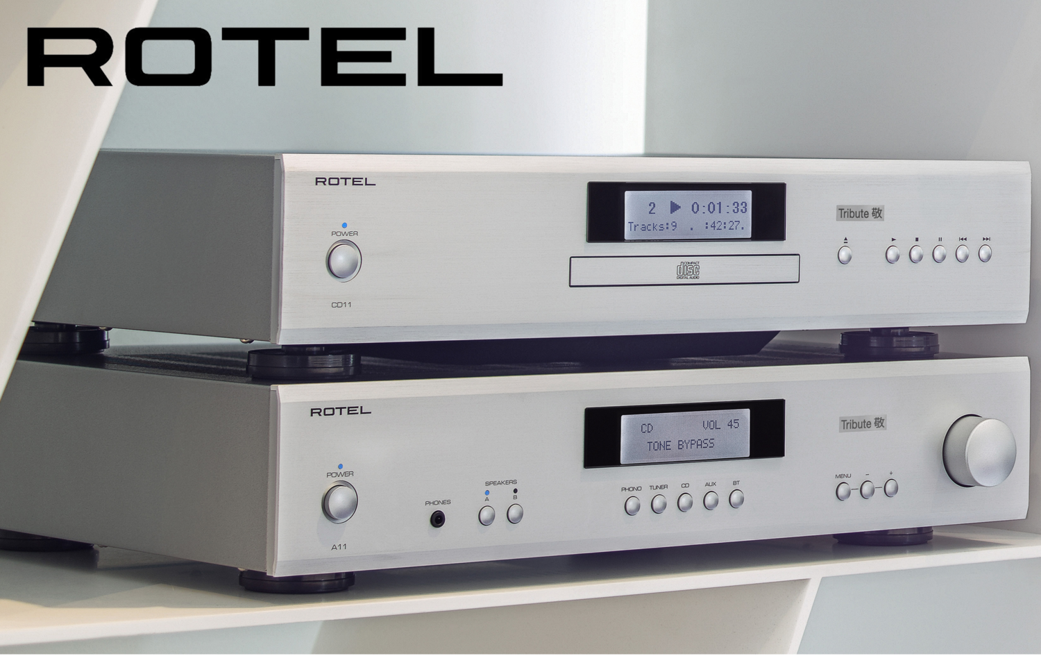 Rotel - A11 & CD11 Tribute — The Power of Music and Audio — PMA