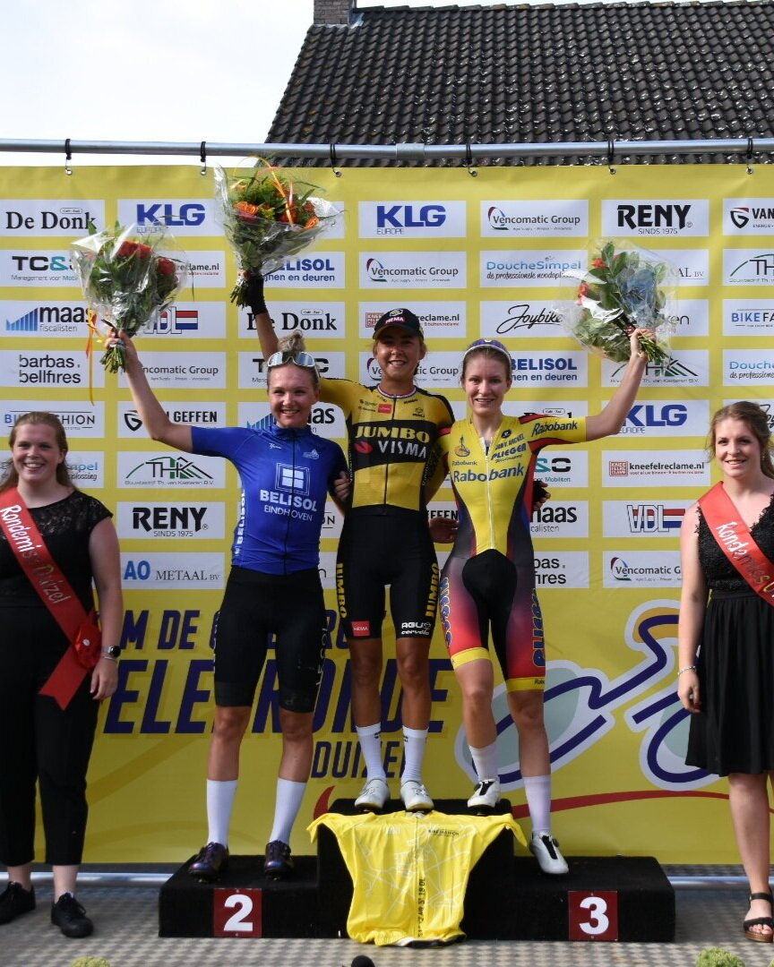 Maike races to a podium place in Duizel