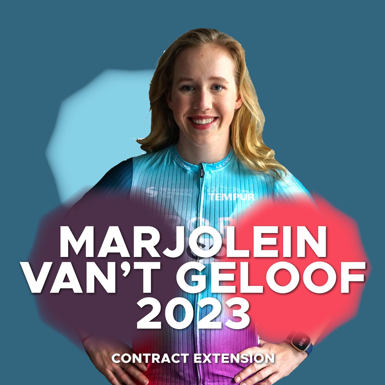 Marjolein van't Geloof extends