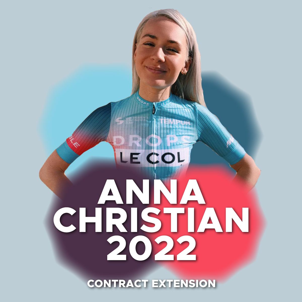 Anna Christian Extends Contract