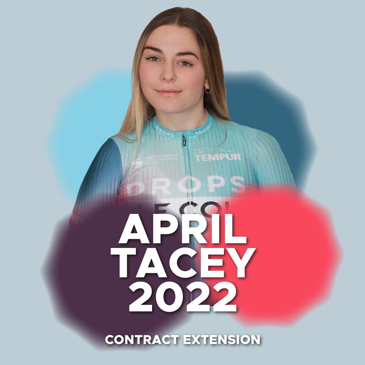 April Tacey extends her contract