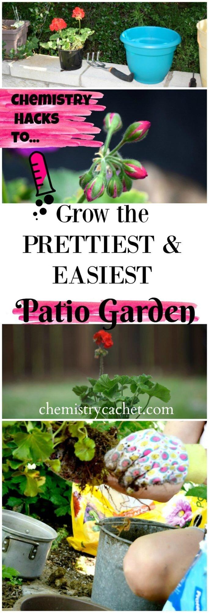 Hacks for a simple patio garden!