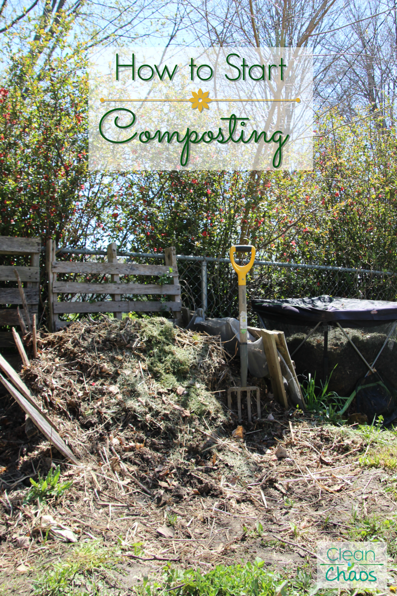 Easy way to start composting for beginners