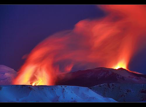 Flickr: Volcano in Iceland