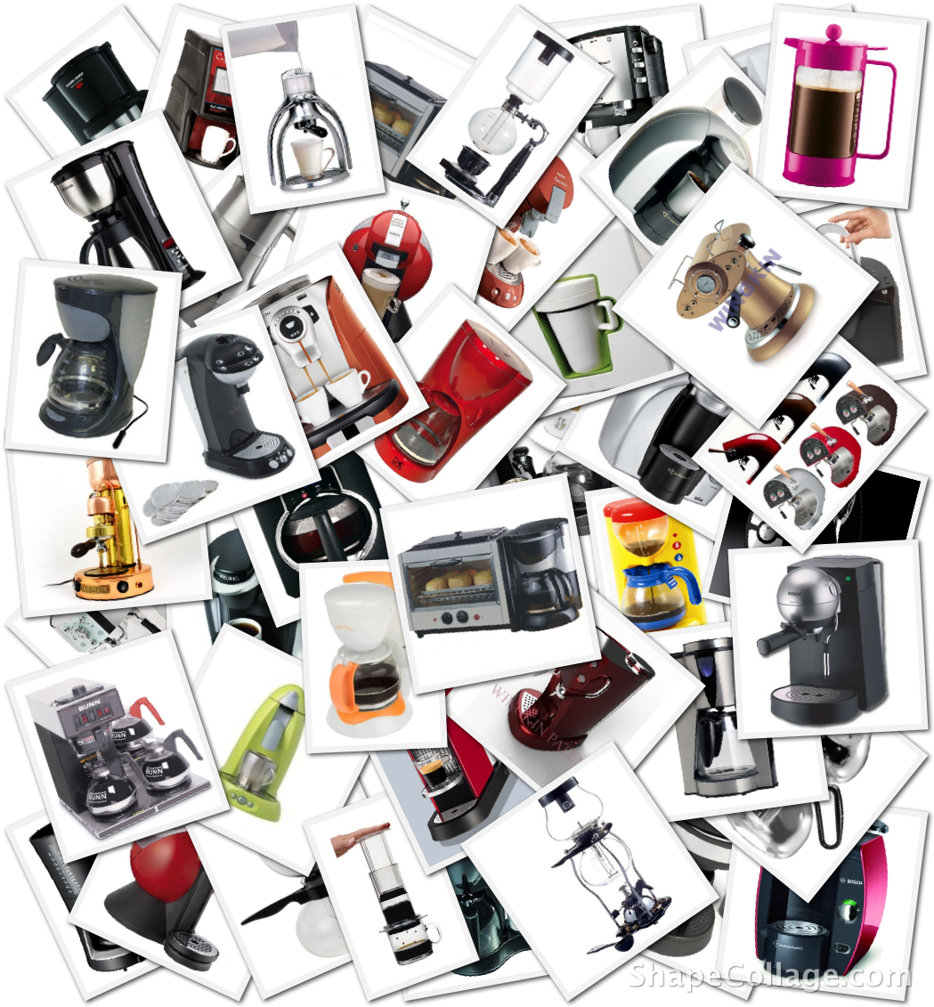 A survey of existing coffeemakers