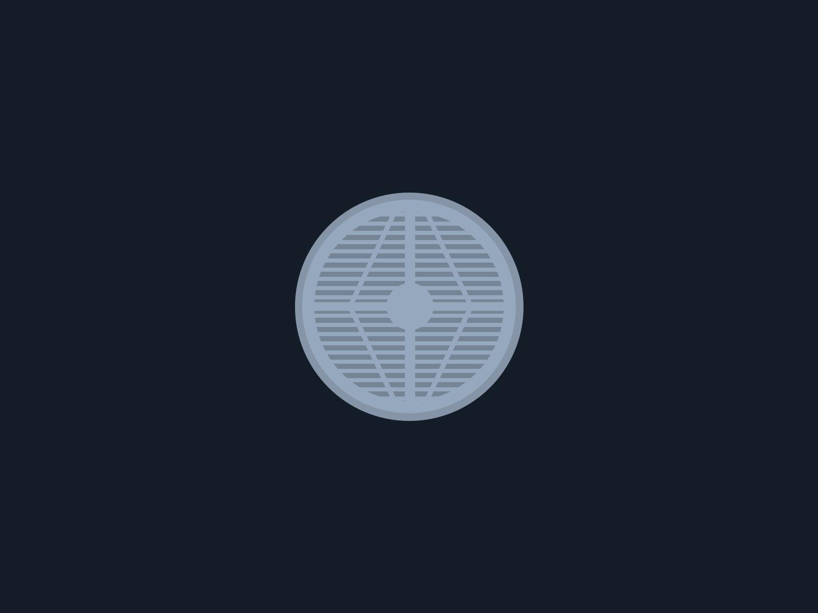 A New York man hole cover, sans the Con Edison logo.