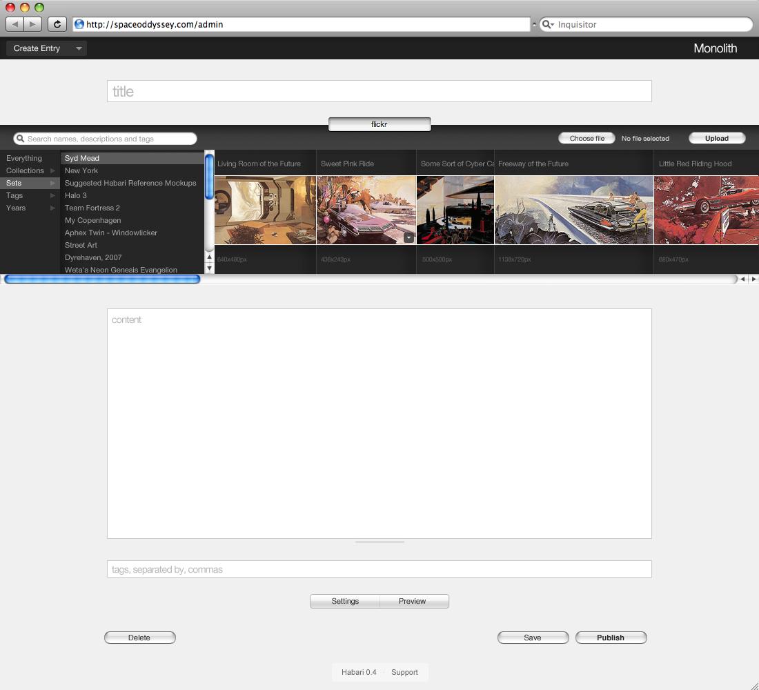 130 - Create Entry - Flickr Silo.jpg