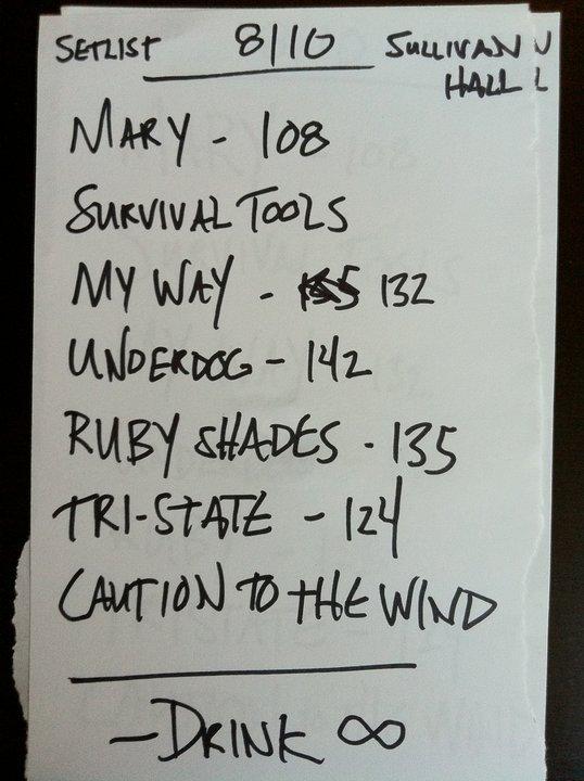 Sullivan Set List.jpg