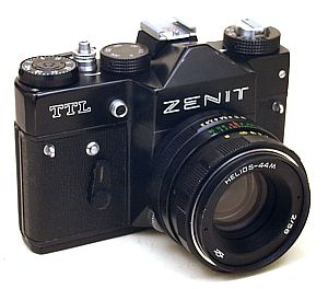 My starting pistol. Zenit TTL